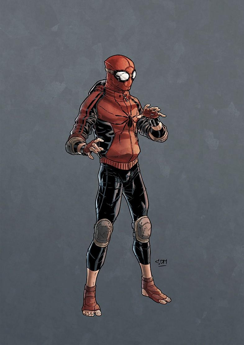 Spiderman fan art costume